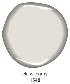 #BenjaminMoore Classic Gray 1548