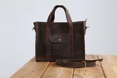 Satchel de cuero hecho a mano, maletín de cuero, cartera del ordenador portátil, cuero bandolera, bandolera, bolso de cuero de mujer de cuero