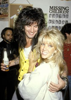 Heather Locklear and Tommy Lee, 1986