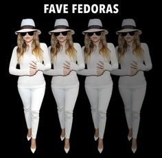@khloekardashian: I LOVE my fedoras!!! Quick, chic go-to. Best way to hide from paps, or when you hing over, LOL!!! See my faves on my app! Link in bio