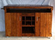 Hand Built Custom Kitchen Island