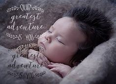 baby photo overlay, typography  by OurFriendsEclectic on @creativemarket