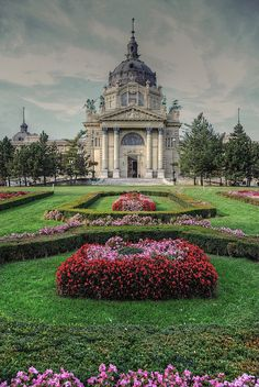 Széchenyi Thermal Bath, Budapest, Hungary, medicinal baths built in northern wing completed in Places Around The World, Oh The Places You'll Go, Places To Travel, Places To Visit, Around The Worlds, Budapest Thermal Baths, Beautiful World, Beautiful Places, Hallstatt