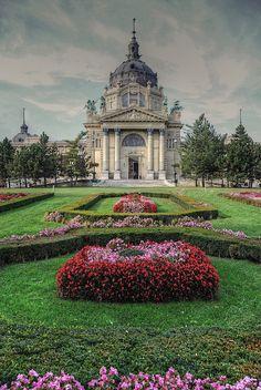 Széchenyi Thermal Baths - Budapest, Hungary