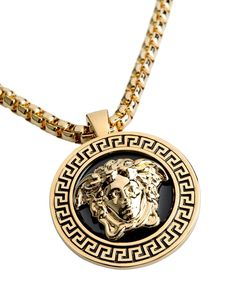 696a36edb Versace Medusa Necklace in Gold for Men | Lyst Gold Chains For Men, Medusa,