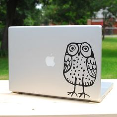 Fun graphic to personalize a laptop.