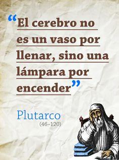 Ese Plutarco, optimista práctico de pensamiento…