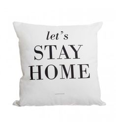 Le Coussin Let's Stay Home
