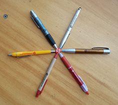As nossas canetas desde a fundação .