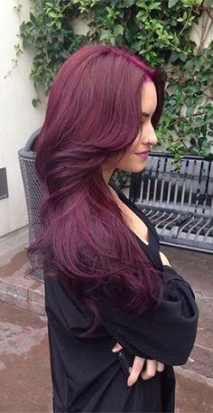 Red/Red-Violet/Copper Hair #8