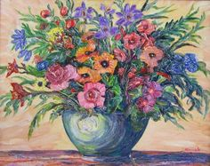 Vase of Flowers - Richard Nowak