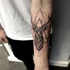 Military Sleeve Tattoo, Family Sleeve Tattoo, Tribal Sleeve Tattoos, Geometric Tattoo Arm, Best Sleeve Tattoos, Hand Tattoos, Fox Tattoos, Tree Tattoos, Antler Tattoos