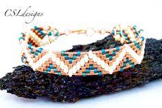 Aztec wirewoven bracelet