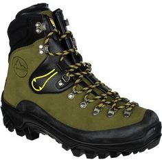 La Sportiva Karakorum Mountaineering Boot Mens Green 42 >>> Be sure to check out this awesome product. Best Hiking Boots, Hiking Boots Women, Men Hiking, Hiking Gear, Hiking Shoes, Trekking Gear, La Sportiva Boots, Caterpillar Boots, Backpacking Boots