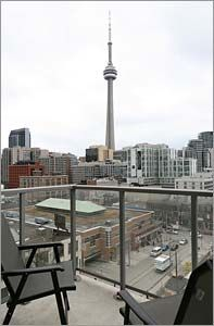 Click to enlarge Cn Tower, Terrace, Toronto, Loft, Space, Building, Travel, Balcony, Floor Space