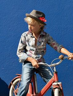 Start them young - in both bikes and fashion.