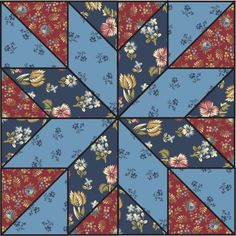 I just love this pattern. This site has lots of free downloadable pdf with pattern templates and pattern instructions