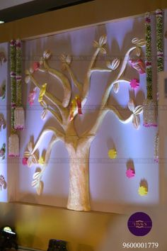 6 Engagement Decor Ideas To Celebrate The Day In Sheer Style Backdrop Decorations, Indian Wedding Decorations, Festival Decorations, Flower Decorations, Backdrops, Flower Garlands, Engagement Stage Decoration, Marriage Decoration, Cradle Ceremony