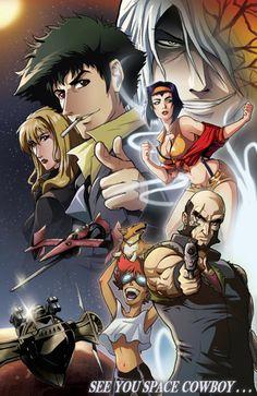 cowboy bebop ed manga anime pinterest cowboys
