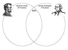 President's Day Venn Diagram Worksheet