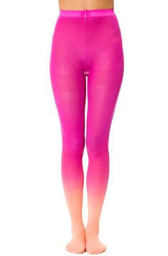 The Flamingo Ombre Tights