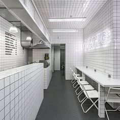 from the future laboratory instagram feed. Our edit of the best-in-class food and drink interiors that will dictate retail and restaurant design directions in the years to come includes Vegetarian restaurant Orang+Utan, which shies away from the traditional interior design of a healthy eating establishment, preferring a minimalist aesthetic. #InteriorDesign #Architecture #DesignDirection #RestaurantDesign #Vegetarian #Health #Wellness #Restaurant #FoodDrinkFuturesForum #Design #Kiev…
