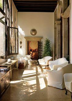 Axel Vervoordt. Architectural Digest, Axel Vervoordt design, interior design projects, top designers, living room decor, decor inspirations. For More News: http://www.bocadolobo.com/en/news-and-events/