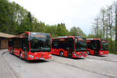Mercedes-Benz Citaro in use on Germany's steepest bus route #mercedes #benz #bus #citaro #mbhess #mbbus