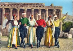 lebanon traditional clothing - Google Search