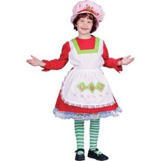 Fairy Tale Country Girl Child Halloween Costume, Size: Small, Multicolor