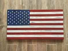 gallery photo American Flag Wood, Wood Flag, Flag Signs, Usa Flag, All You Need Is, Fourth Of July, True Colors, Solid Wood, Handmade Gifts
