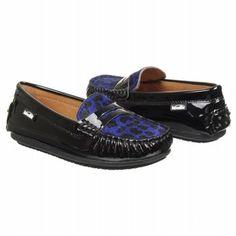 Venettini Savor Tod/Pre/Grd Shoes (Blue Pony/Black) - Kids' Shoes - 35.0 M
