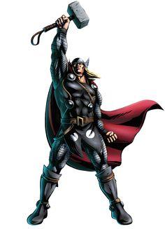 Thor est le dieu du tonnerre dans la mythologie germanique. Il est l'un des dieux principaux du panthéon, et fut vénéré dans l'ensemble du monde germanique. D'après ces textes scandinaves, Thor est...