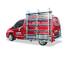Adjustable Rubber Cleat System For Glass Glazier Transport Rack