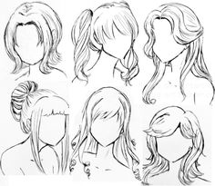 draw realistic hair sarahs art inspiration pinterest anime