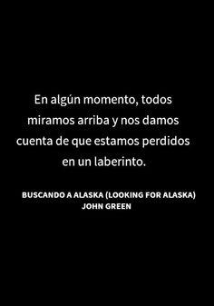 Buscando a Alaska-John Green.