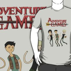 Adventure Games T-Shirts & Hoodies