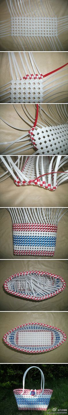 Want to figure out how to do this weave and try with lanyard. Would make a great pool bag