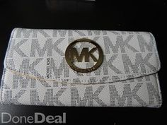 Michael Kors Set: Wallet & Necklace For Sale in Dublin : - DoneDeal. Large Handbags, Handbags On Sale, Dublin, What To Wear, Buy And Sell, Michael Kors, Wallet, Stuff To Buy, Big Purses