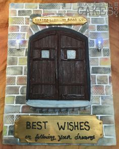 Oxford Carriage Door Ltd.door presented a fun challenge with turning their gorgeous doors & into a cake! in too Mmmmm. Make A Wish, How To Make, Carriage Doors, Sheet Cakes, Fun Challenges, Carrot Cake, Turning, Oxford, Logo Design