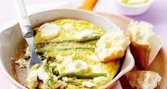 Frittata met asperges