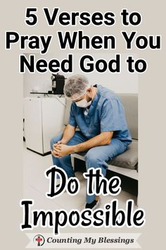 5 Verses to Pray When You Need God to Do the Impossible The Bible says Nothing is impossible for God. These prayers will help when you need God to do what only He can do in your impossible circumstances. Prayer Scriptures, Bible Prayers, Faith Prayer, God Prayer, Prayer Quotes, Bible Quotes, Christ Quotes, Scripture Verses, Quotes Quotes
