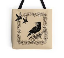 Black Crows  Tote Bag