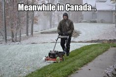 Funniest photos that will make you say Meanwhile in Canada. Canada, a north american country is a beautiful place. There are many funny Ohio Memes, Friday Funny Pictures, Funny Pics, Ohio Weather, Montana Weather, April Weather, Meanwhile In Canada, Weather Memes, Tim Beta