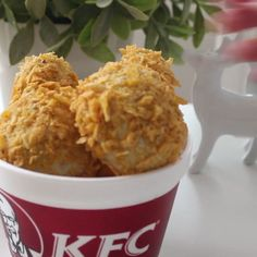 Surprise your friends with these incredible KFC drumstick cakes.