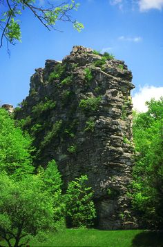 Pinnacle Rock, Bluefield, West Virginia a place i have climed