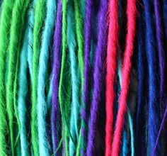 Picture of DIY Synthetic Dreads: Sealing Method 1