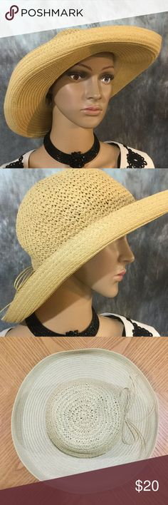 099d47b3bd8ce8 Shop Women's Helen Welsh Cream size OS Hats at a discounted price at  Poshmark. Description: Flirty hat, fashion and function to help protect you  from the ...