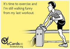Leg day anyone? I've been off IG for a while so thought I'd return with a funny! Go crush your next workout!