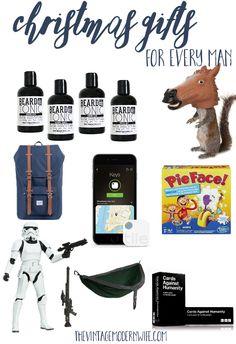 Pin this Christmas Gifts for Every Man Gift Guide image to Pinterest!